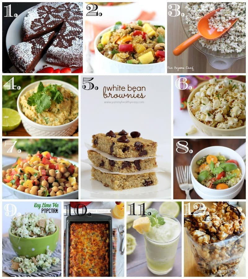 April Mystery Dish Collage - look at what all the bloggers created this month!