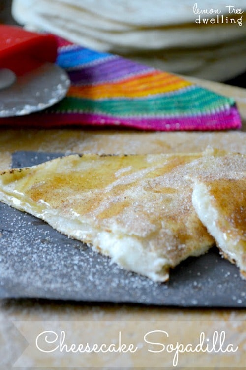 Cheesecake Sopadillas from Lemon Tree Dwelling