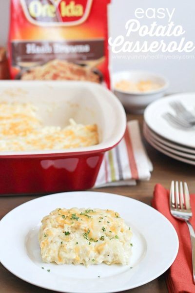 Easy Potato Casserole |perfect side dish for Easter brunch or any meal of the week! #shop #cbias