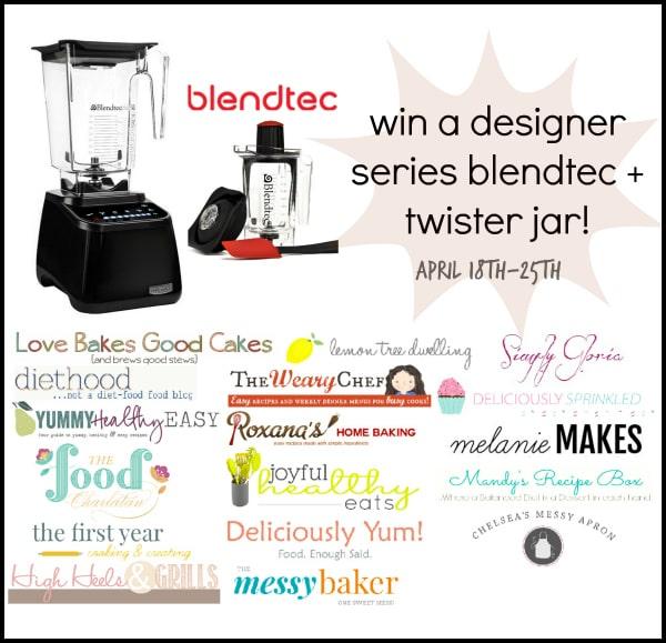 Blendtec Blender Giveaway!!