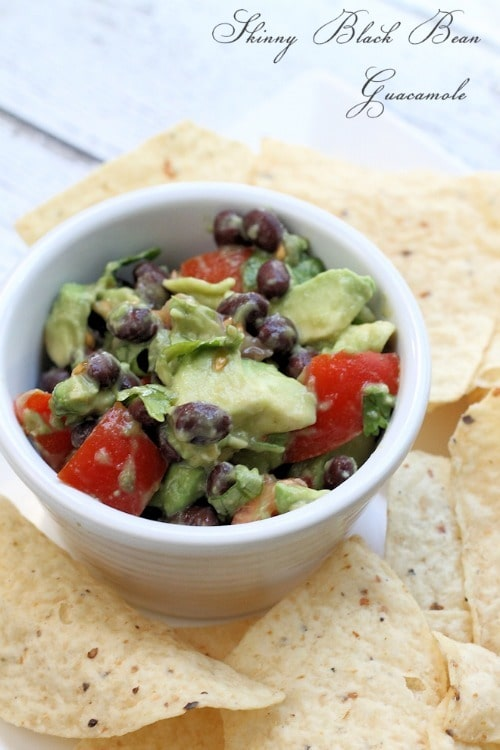 Skinny Black Beach Guacamole from Mom Foodie