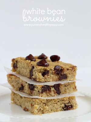 White Bean Brownies (Gluten Free)