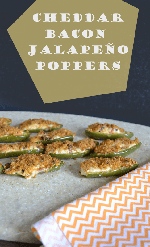 Cheddar Bacon Jalapeno Poppers from Poofy Cheeks