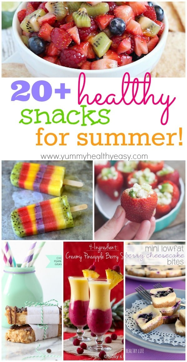 20 healthy summertime snacks yummy healthy easy 20 healthy snacks for summer a great collection of guiltless treats you can enjoy all summer long forumfinder