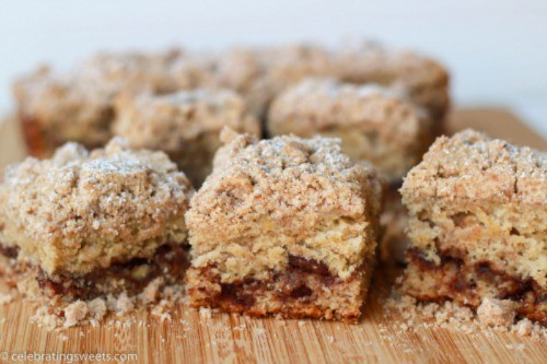 Banana Crumb Cake by CelebratingSweets.com