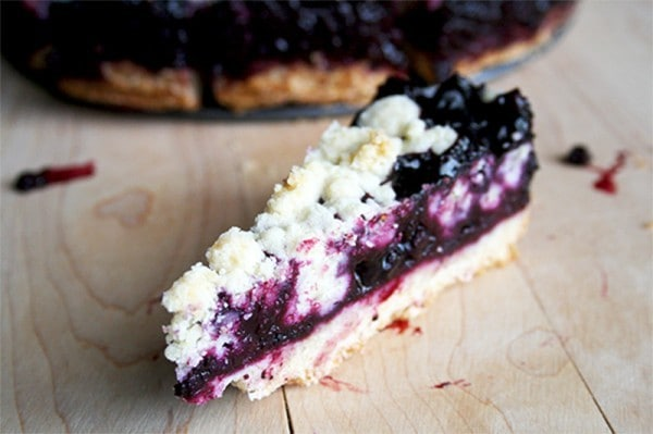 Blueberry Crumb Bars by Blahnik Baker