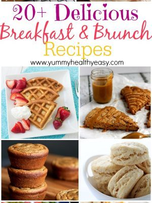 20+ Delicious Breakfast & Brunch Recipes