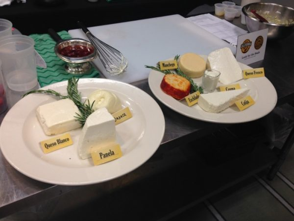 Some of the California cheeses...yum!