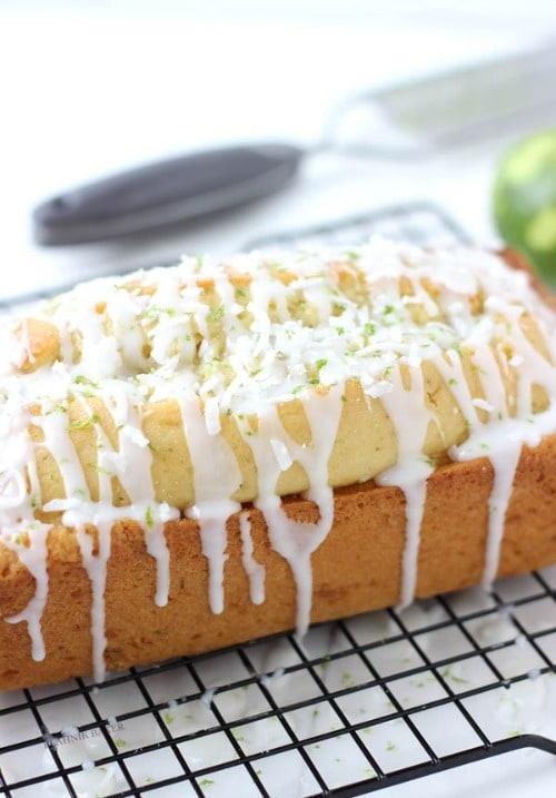 Coconut Key Lime Bread by BlahnikBaker.com