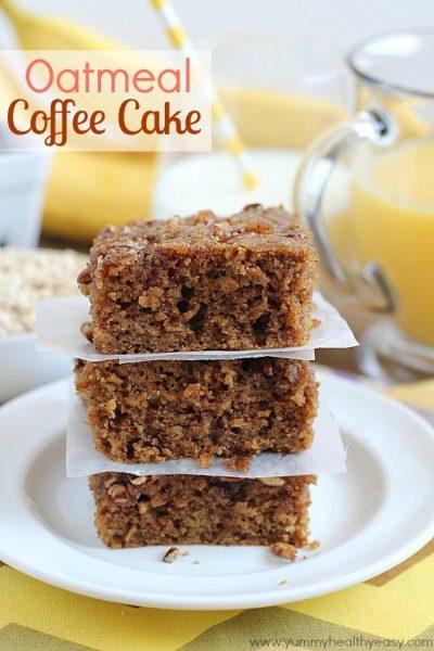 Oatmeal Coffee Cake