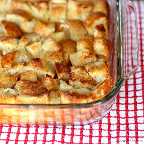 Overnight French Toast Casserole by wearychef.com