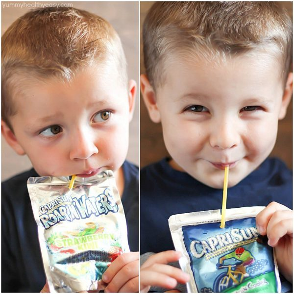 Capri Sun beverages are my kids' favorites!