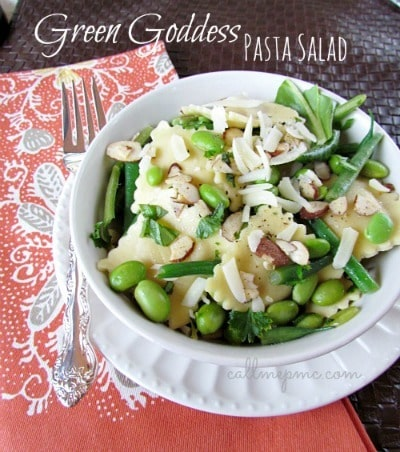 Green Goddess Pasta Salad - Call Me PMc