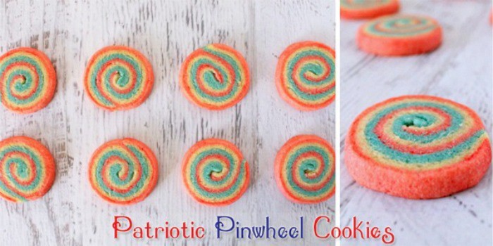 Patriotic Pinwheel Cookies - Kleinworth & Co.