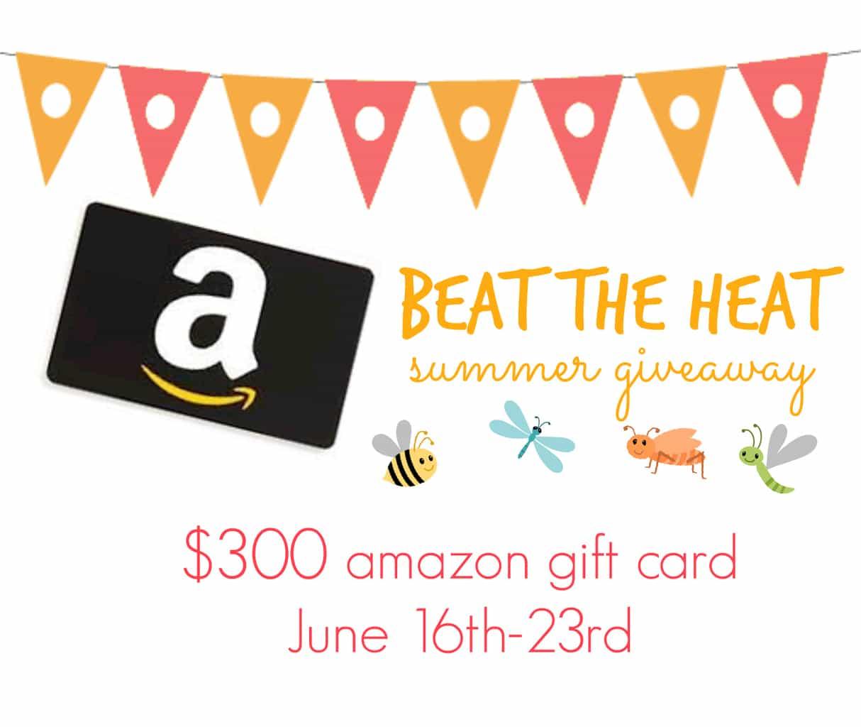 easy lemonade  300 amazon gift card giveaway  yummy
