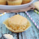 Light & Fluffy Corn Muffins - the perfect salty and sweet combo muffins that are fluffy and delicious!