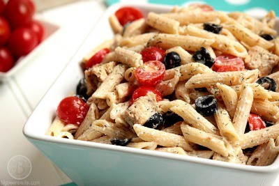 "Greek ""Dill"" Light Pasta Salad - Big Bear's Wife"