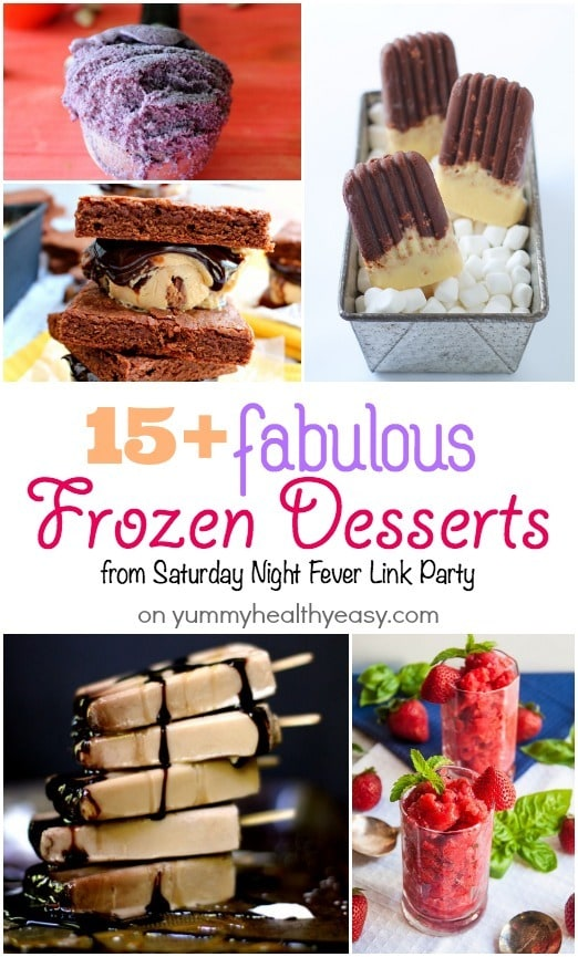 15+ Fabulous Frozen Desserts you'll HAVE to try!