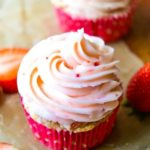 Fresh Strawberry Cupcakes - Layers of Happiness