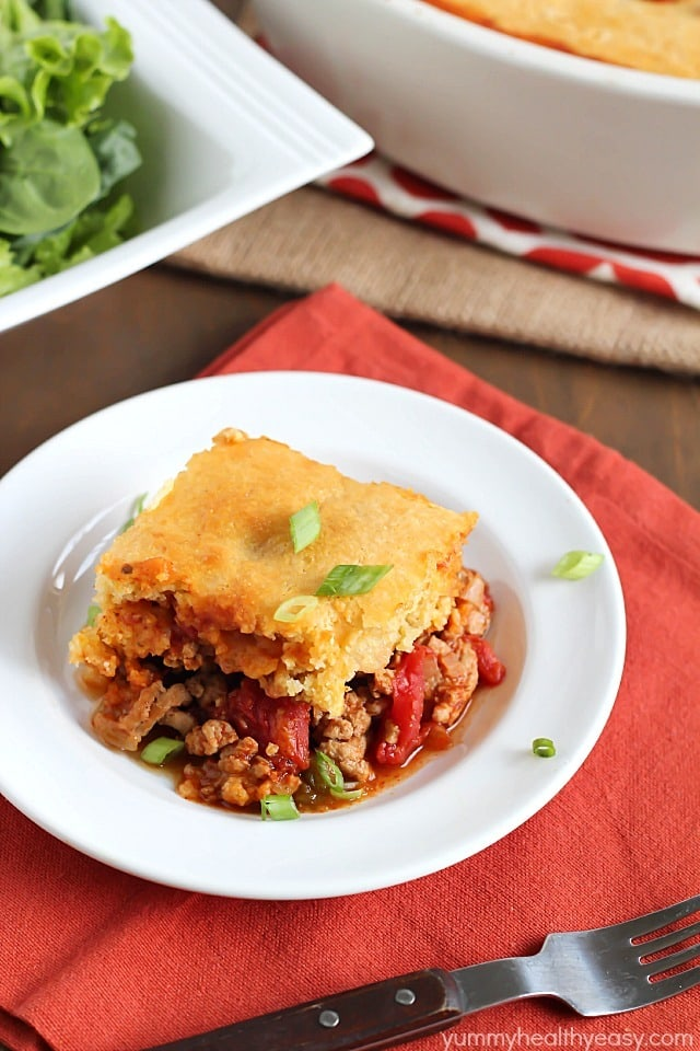 Tamale Pie + $400 Back to School CASH Giveaway! - Yummy Healthy Easy