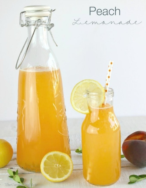 Peach Lemonade by The Casual Craftlete
