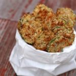 Spicy Zucchini Chips by Tina's Chic
