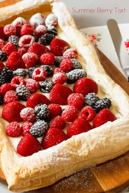 Summer Berry Tart from Annie's Noms