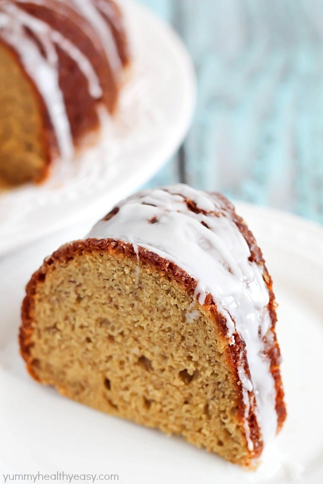 Banana Bread in cake form! Soft, moist and absolutely delicious! PLUS ...
