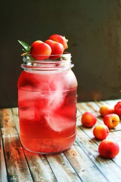 Rainer Cherry Summer Punch by I Thee Cook
