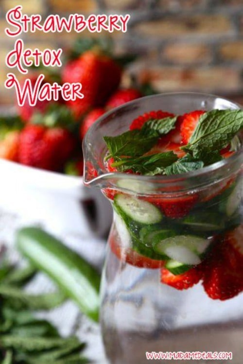 Strawberry Detox Water by Madame Deals