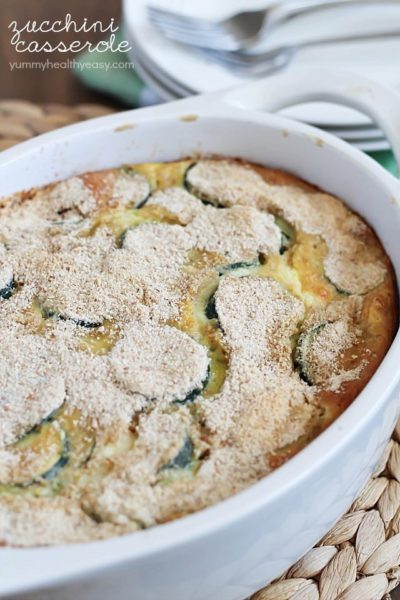 Zucchini Casserole - a healthy and deliciously side dish that's full ...