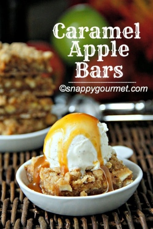 Apple Bars from Snappy Gourmet