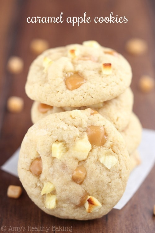 Caramel Apple Cookies from Amy's Healthy Cooking