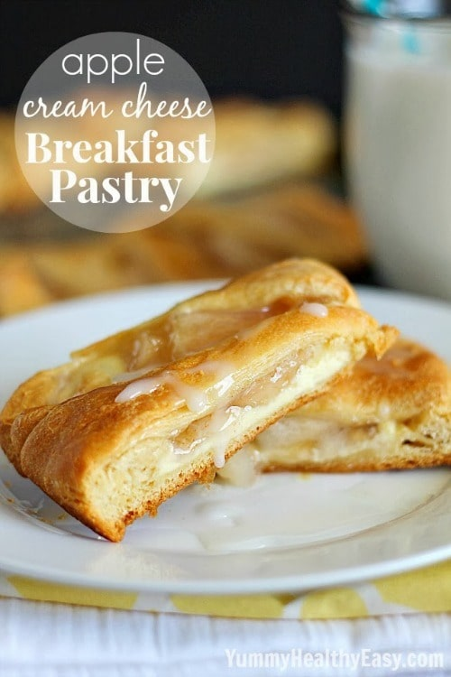 Apple Cream Cheese Breakfast Pastry Ring