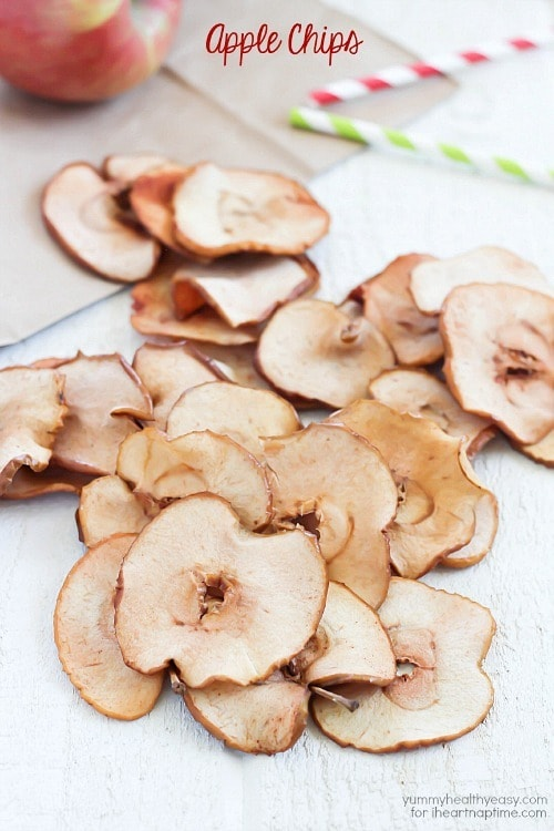 Apple Chips from Yummy Healthy Easy for I Heart Nap Time