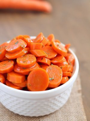 Need an easy side dish? You will love these glazed carrots! Just a few ingredients to a fabulous side dish that will wow!