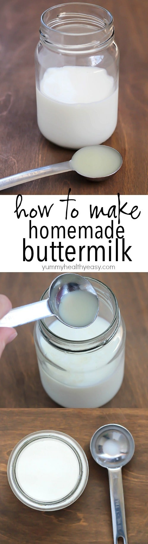 How to make homemade buttermilk - best kitchen hack ever! Enter Fresh & Easy's Holiday Sweepstakes to win $150 in groceries or $300 cash! #ad