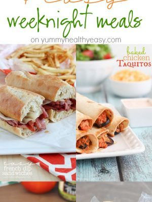 5 quick and easy (30 minute) weeknight meals that will make the whole family happy!
