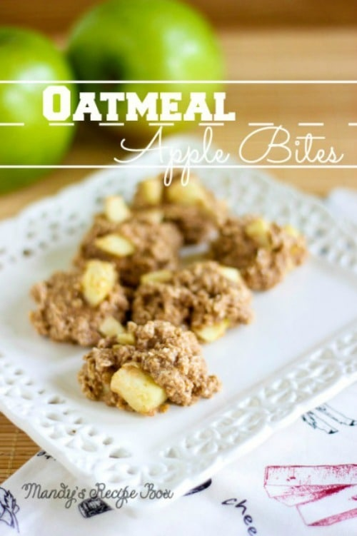 Oatmeal Apple Bites from Mandy's Recipe Box