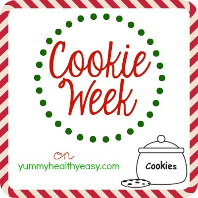Cookie Week on YummyHealthyEasy.com!!