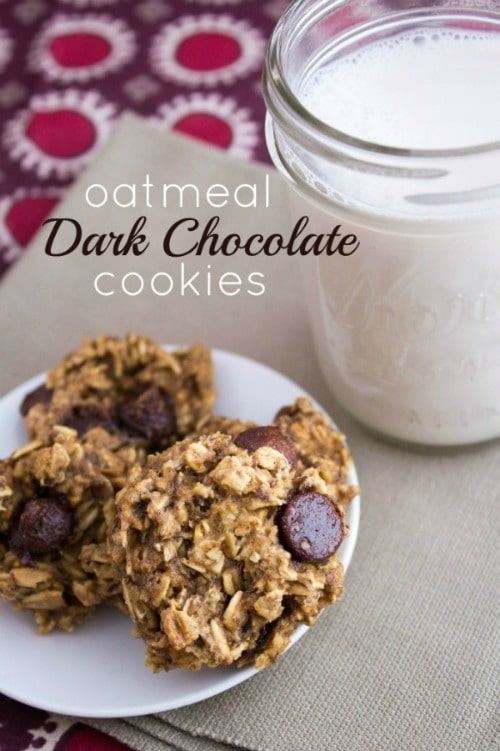 Dark Chocolate Cookies from Fannetastic Food