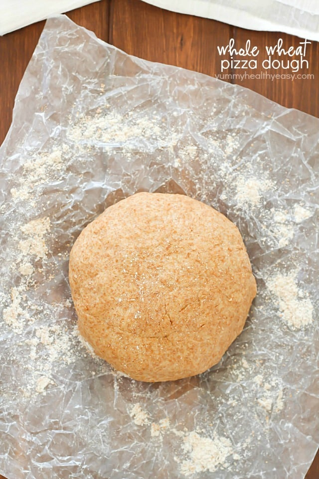 easy whole wheat pizza dough yummy healthy easy
