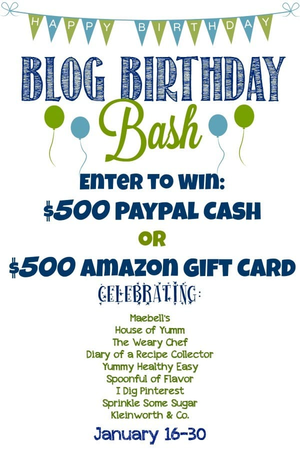 A $500 Giveaway for Paypal Cash or Amazon Gift Card!