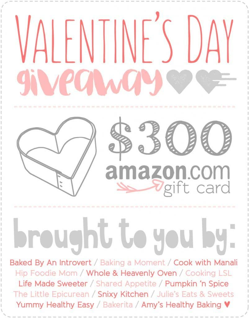 Valentine's Day Giveaway! $300 Amazon Gift Card up for grabs!
