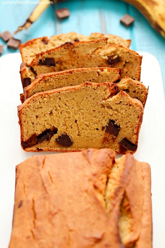 Secret ingredient healthy banana bread recipe yummy healthy easy healthy banana bread recipe made with a secret ingredient and all in the food forumfinder Gallery