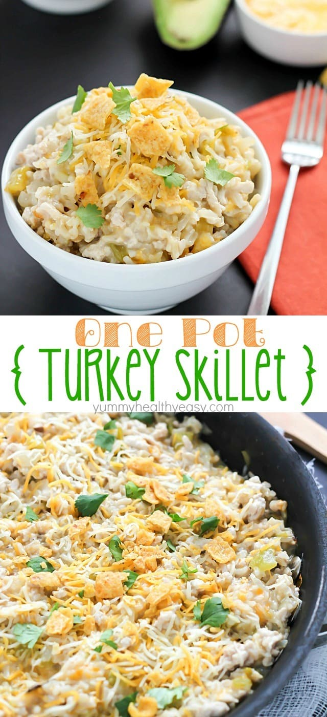 Easy Skillet Turkey Dinner Recipe — Dishmaps