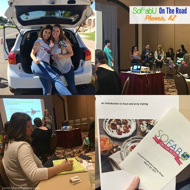 SoFabU On The Road Conference! Lots of great information learned here. Plus a recap of my entire road trip.
