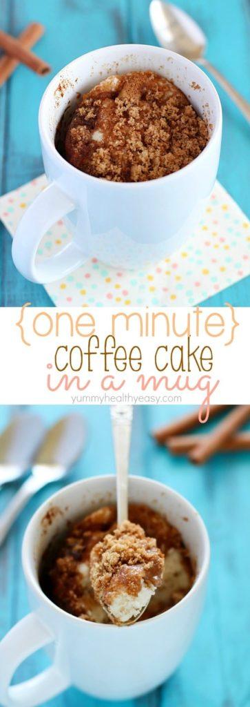 Strawberry Jam Mug Cake Recipe
