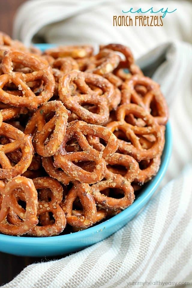 Easy ranch pretzels yummy healthy easy for Easy ranch