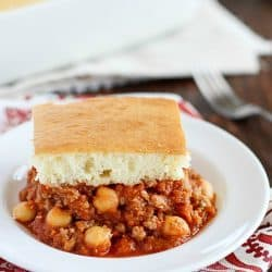 Healthier Sloppy Joe Casserole